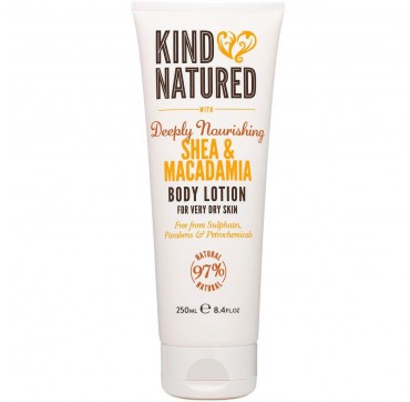 KIND NATURED BODY LOTION WITH DEEPLY NOURISHING SHEA & MACADAMIA 250ml