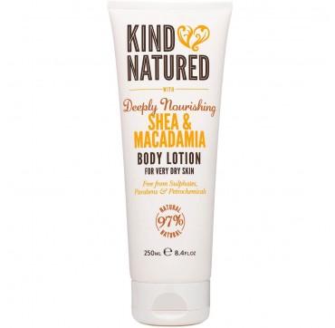 Kind Natured Body Lotion With Deeply Nourishing Shea & Macadamia 250ml