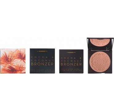 KORRES 02 WARM SHADE COCOA & COCONUT BRONZER 10g