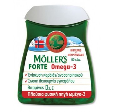 MOLLERS FORTE OMEGA-3 60caps