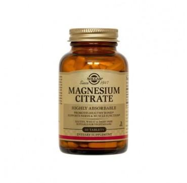 Solgar Magnesium Citrate 200mg 60tabs