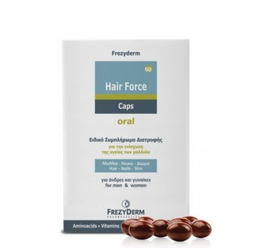 FREZYDERM HAIR FORCE ORAL 60caps