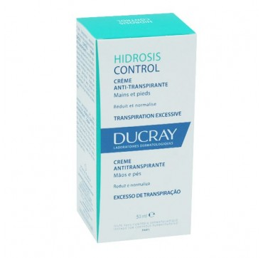 Ducray Hidrosis Control Creme Antitraspirant 50ml