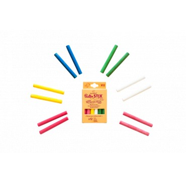 JAQ JAQ BIRD BUTTER STIX ZERO DUST CHALKS 12 ΤΕΜ.