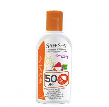 SAFESEA® ANTI-JELLYFISH LOTION – SPF 50 KIDS