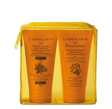 L'ERBOLARIO YELLOW KIT SUN CREAM 75ml + AFTER SUN SOLEOMBRA 75ml
