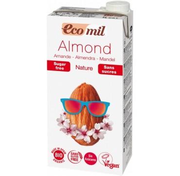Ecomil Bio Almond Milk Φυσικό Γάλα Αμυγδάλου 1lt