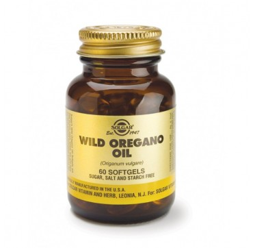 SOLGAR WILD OREGANO OIL SOFTGELS 60softgels
