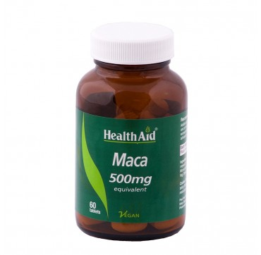 HEALTH AID MACA 500 MG x60 TABS