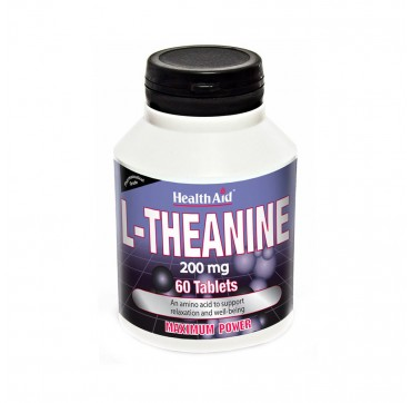HEALTH AID L - THEANINE 200 MG X60 TABS