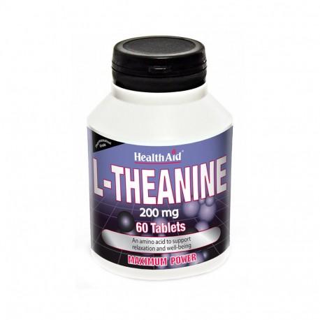 HEALTH AID L - THEANINE 200 MG X60 TABS