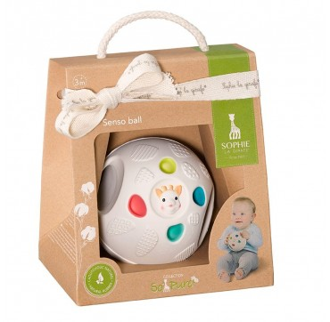 SOPHIE LA GIRAFE Μπάλα που διεγείρει τις αισθήσεις του μωρού