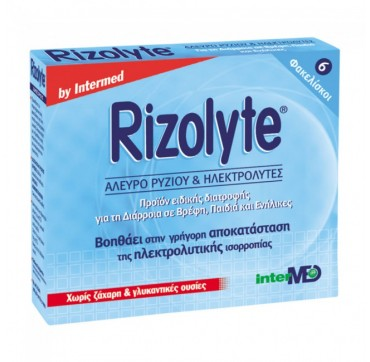 INTERMED RIZOLYTE SACHETS x6 pcs