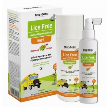 FREZYDERM LICE SET (LOTION+SHAMPOO) 2X125ml