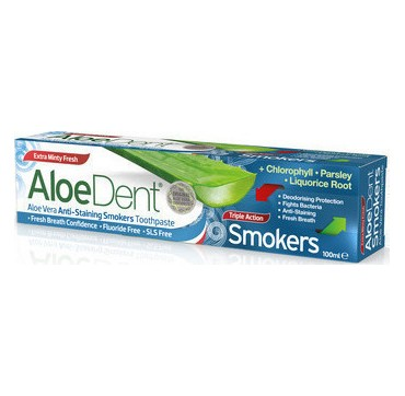 OPTIMA - Aloe Dent Οδοντόκρεμα Triple Action (Smokers)