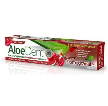 OPTIMA - Aloe Dent Οδοντόκρεμα Triple Action Pomegranate