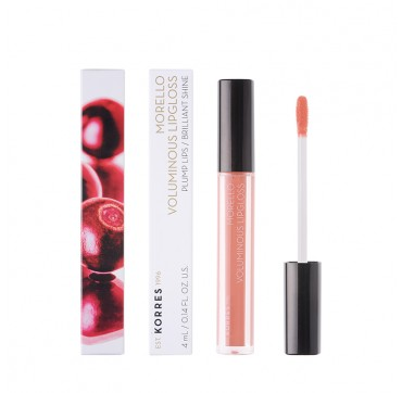 KORRES MORELLO VOLUMINOUS LIPGLOSS No 12 CANDY PINK 4ml