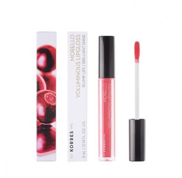 KORRES MORELLO VOLUMINOUS LIPGLOSS No 42 PEACHY CORAL 4ml