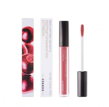 KORRES MORELLO VOLUMINOUS LIPGLOSS No 16 BLUSHED PINK 4ml