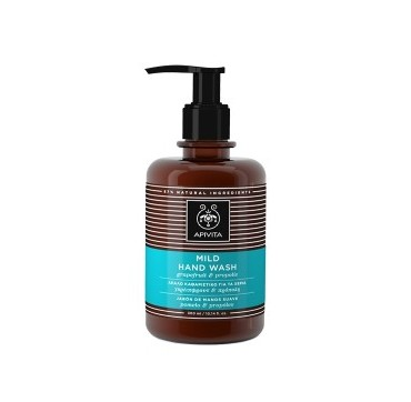 APIVITA MILD HAND WASH (GRAPEFRUIT & PROPOLIS) 300 ml