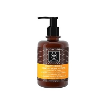 APIVITA MOISTURIZING HAND & BODY LOTION (GRAPEFRUIT & HONEY) 300 ml