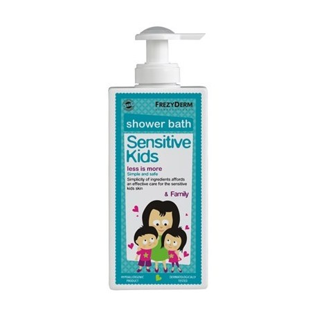 FREZYDERM SENSIKIDS SHOWER BATH 200ml