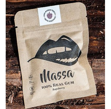 MASSA 100% REAL GUM (RAPSBERRY) 17 g