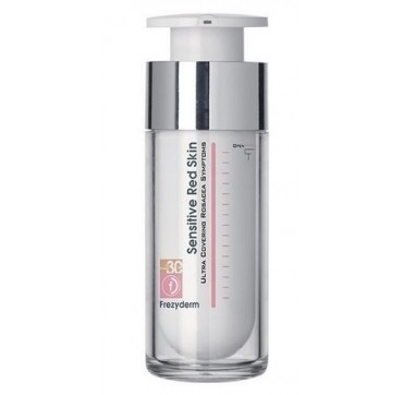 Frezyderm Sensitive Red Skin Cream Tint Cc Spf30 30ml