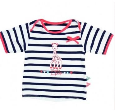 Sophie La Girafe Mayoparasol Μπλούζα Με Uv Προστασία Για Κορίτσι 12 Μηνών