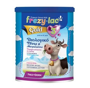 FREZYDERM FREZYLAC GOLD 3 ΣΚΟΝΗ ΓΑΛΑΚΤΟΣ 400 gr