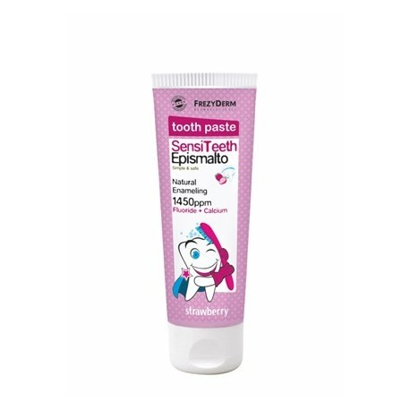 FREZYDERM TOOTH PASTE SENSITEETH EPISMALTO 1450ppm FLUORIDE+CALCIUM 50ML