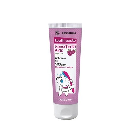 FREZYDERM SENSITIVE KIDS TOOTHPASTE 500ppm 50ml